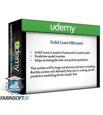 دانلود Udemy Step by step guide in mastering Scikit-Learn (2021)