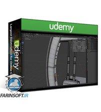 دانلود Udemy Victory3D – Futuristic Game Environment in Blender