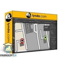 دانلود lynda Drawing Simplified Maps in Illustrator