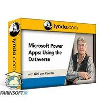 دانلود lynda Microsoft Power Apps: Using the Dataverse (Formerly the Common Data Service)