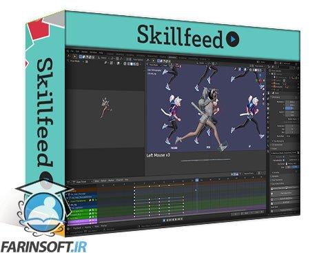 دانلود Skillshare Blender Animation Course by Dillon Gu a Step-by-step Course to Character Animation