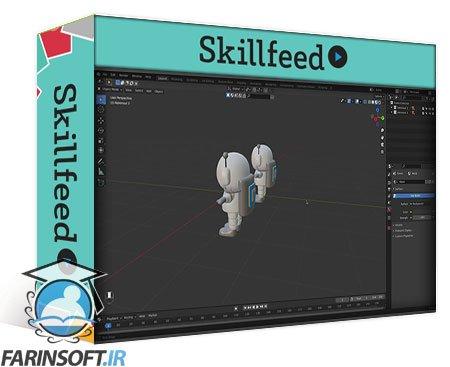 دانلود Skillshare Create A Space Scene In Blender 3D