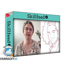 دانلود Skillshare Digital Patchy portraits with Procreate