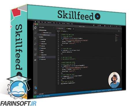دانلود Skillshare Introduction to Openlayers (vanilla JS)