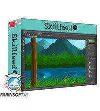 دانلود Skillshare Learn How to Create Simple Digital Painting with Adobe Photoshop