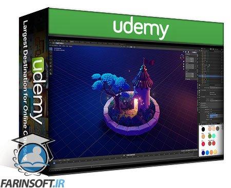 دانلود Udemy 3D Characters and Illustrations in Blender 2.9
