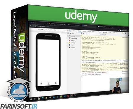 دانلود Udemy Angular 11 : Develop your first mobile app (2021)