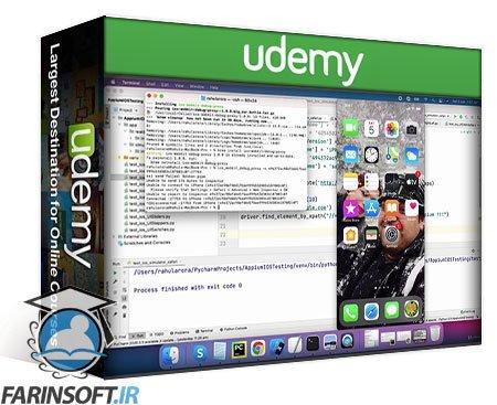 دانلود Udemy Appium – Mobile App Automation in Python (Basics + Advance)
