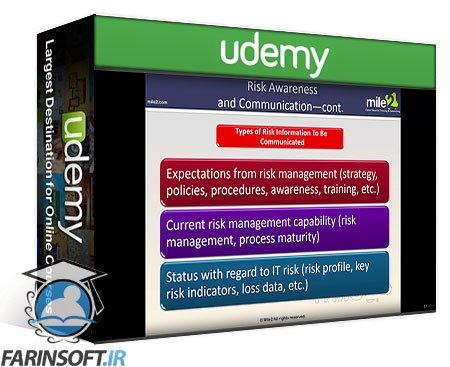 دانلود Udemy CISRM – Certified Information Systems Risk Manager