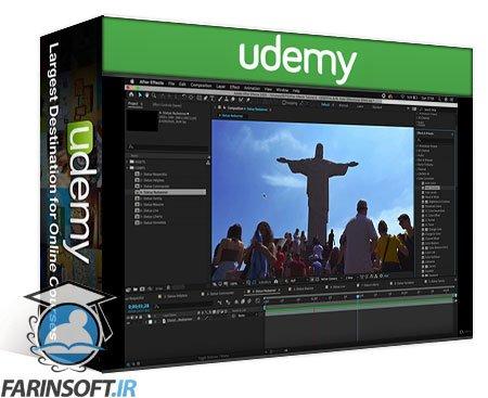 دانلود Udemy Complete After Effects & UI-UX Design by using Photoshop