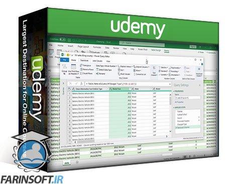 دانلود Udemy Data Analysis & Visualization: Python   Excel   BI   Tableau