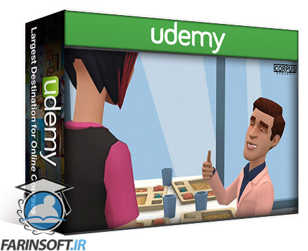 دانلود Udemy English Course – Learn English with Animations and Dialogues