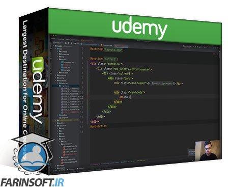 دانلود Udemy LaravelDaily – Creating mini-Reddit in Laravel 8