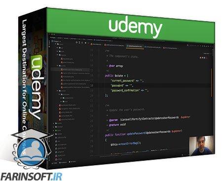 دانلود Udemy LaravelDaily – Laravel Jetstream+Livewire Real Mini-Project