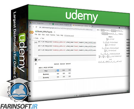 دانلود Udemy Mathematical Optimization with GAMS and Pyomo (Python)