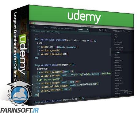 دانلود Udemy Phoenix LiveView Pro
