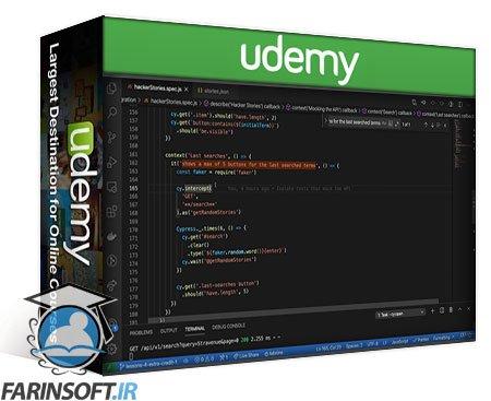 دانلود Udemy Testing Automation with Cypress – Advanced