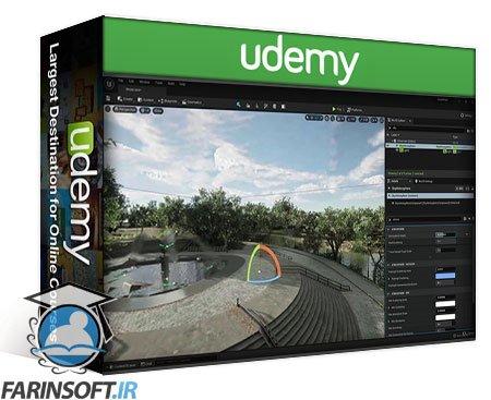 دانلود Udemy Unreal Engine 5- Beginner Lighting, Fog, and Post Processing