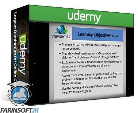 دانلود Udemy VMware vSphere 6.7 Installation, Configure and Manage (ICM)