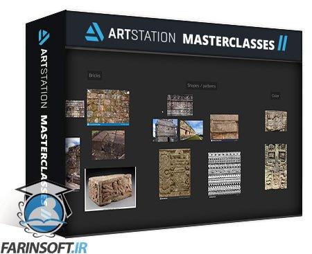دانلود ArtStation Ancient Wall in Substance Designer