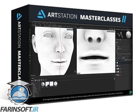 دانلود ArtStation Character Skin Texturing Course (CSTC) heads and body