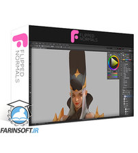 دانلود Flipped Normals Character Painting in Phototshop