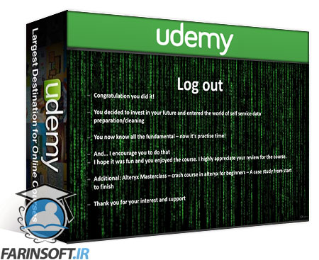 دانلود Udemy Alteryx MasterClass – Lets get started