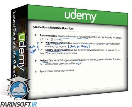 دانلود Udemy Apache Spark 3 Programming | Databricks Certification Python