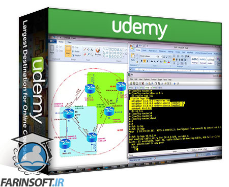 دانلود Udemy CCNP SERVICE PROVIDER – SPRI-300-510