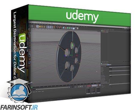 دانلود Udemy Create an Oddly Satisfying Pendulum Animation in Cinema 4D