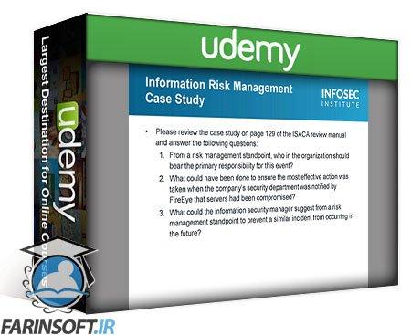 دانلود Udemy Infosec – Cybersecurity Management training