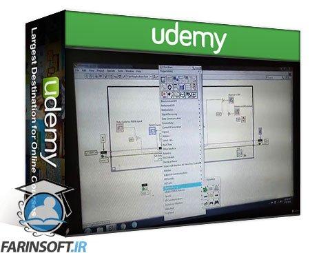 دانلود Udemy IoT using LabVIEW NXG