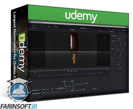 دانلود Udemy Lowepost – 3D Enviroments in Davinci Fusion