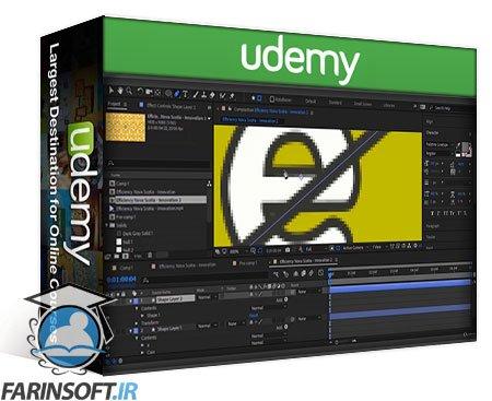 دانلود Udemy Making a Flat Motion Graphics Project
