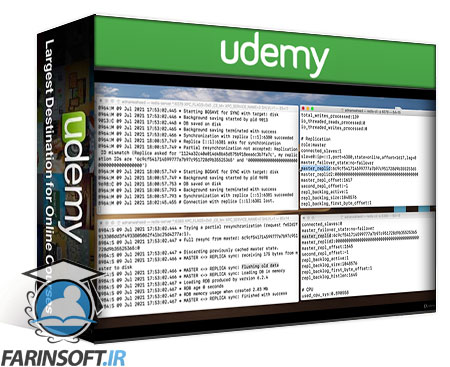 دانلود Udemy Master Redis – From Beginner to Advanced, 20+ hours