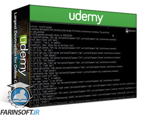 دانلود Udemy MatPlotLib for Python Developers 3 Courses