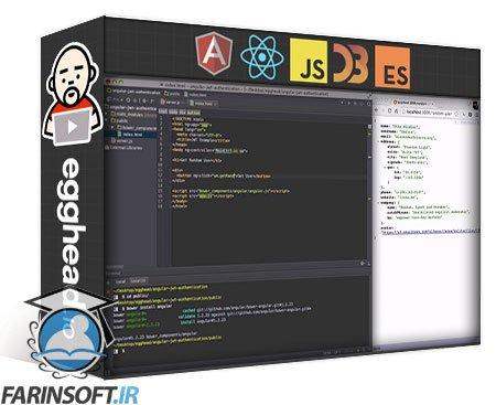 دانلود egghead AngularJS Authentication with JWT