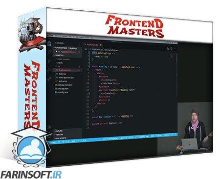 دانلود Frontend Masters React and TypeScript