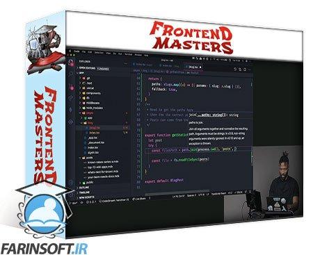 دانلود Frontend Masters Production Grade Next.js