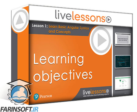 دانلود LiveLessons Learn Angular for Modern Web Applications