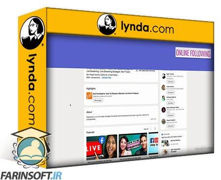 دانلود lynda Building and Engaging with Your Online Following for Creators
