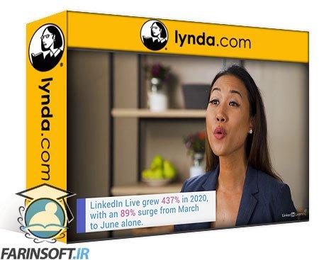 دانلود lynda Jump-Start Your LinkedIn Live Channel