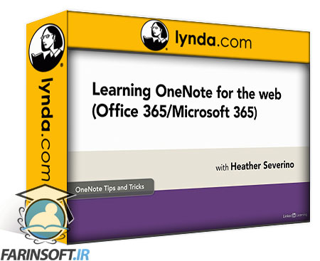 دانلود lynda Learning OneNote for the web (Office 365/Microsoft 365)