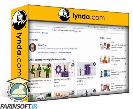 دانلود lynda VMware NSX-T 3.0 Essential Training: 01 vSphere Networking Essentials
