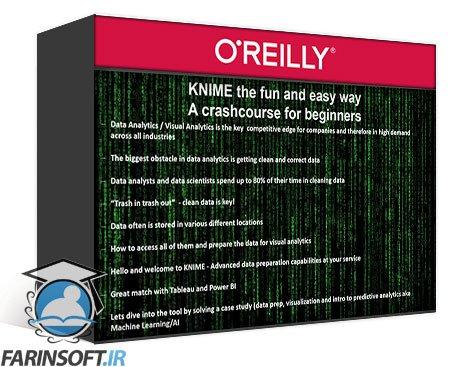 دانلود OReilly KNIME – A Guide for Absolute Beginners