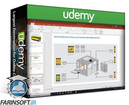 دانلود Udemy PILZ Safety PLC (M1PETH) Programming using PNOZ MultiConfig.
