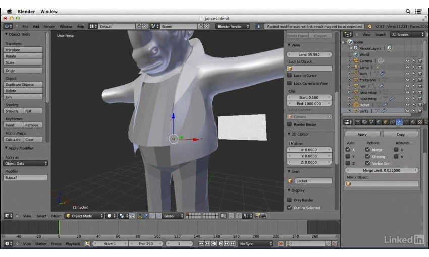 Character Modeling In Blender Lynda : Lynda character modeling in blender
