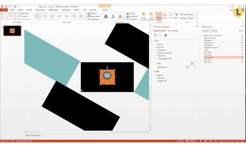 ��� skillfeed make an animated logo intro in powerpoint