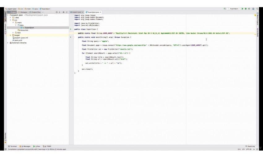 دانلود آموزش Udemy Professional Web Scraping with Java For Fun and Profit