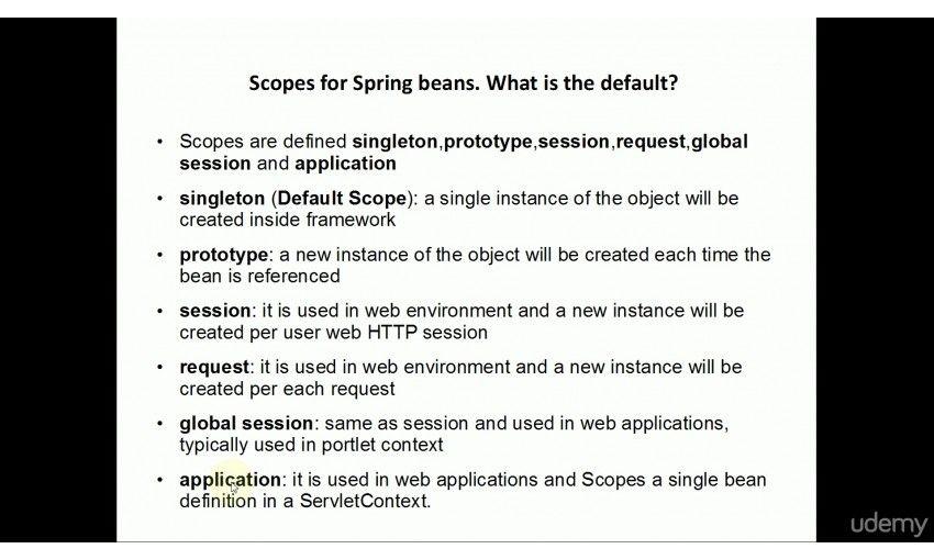 آموزش Udemy Java Spring Framework 4 and Spring Certification - فرین سافت